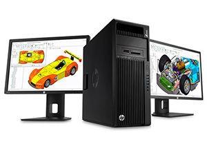 Station de travail et poste fixe HP et Dell